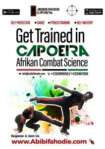 Capoeira Classes Flyer Accra Ghana